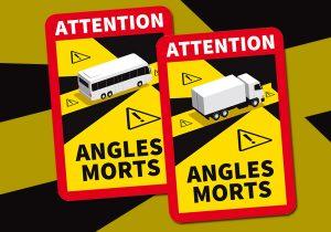 REGLEMENTATION VEHICULES LOURDS : SIGNALISATION DES ANGLES MORTS